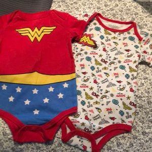 Wonder Woman onsies